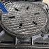 Nắp hố ga khung âm 850x850mm ( có lỗ thu nước )