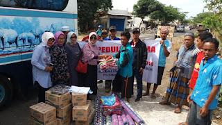 <b>Wujud Kepedulian, RKB Lombok Salurkan Bantuan Bencana Gempa</b>
