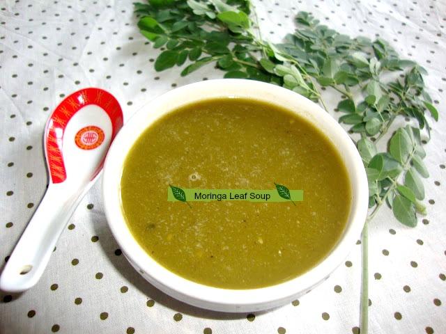 images of Murungaikeerai Soup / Drumstick Leaves Soup / Moringa Leaves Soup