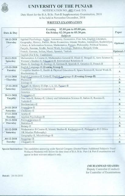 ba pu 2018 supply date sheet