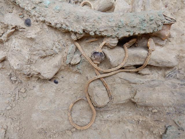 Ανακαλύφτηκαν σπάνια αρχαιολογικά ευρήματα του 1500 π.Χ. στην Πύλο