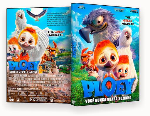 Ploey Você Nunca Voará Sozinho 2018 Dublado DVD-R AUTORADO – CAPA DVD