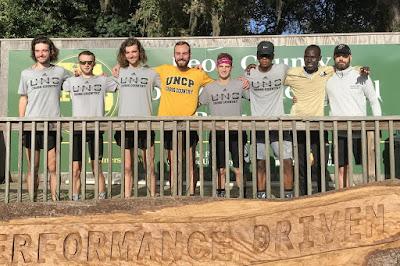 North Carolina Pembroke Men's Cross-Country Team