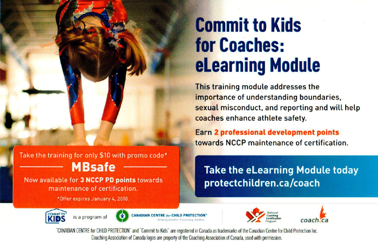 take the online 'commit to kids for coaches' course with special ...