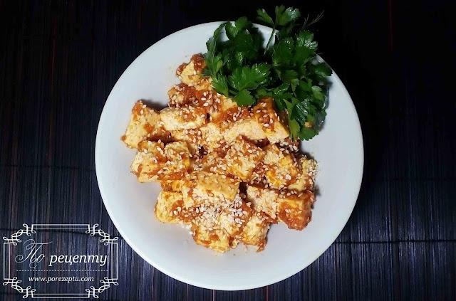 тофу карри