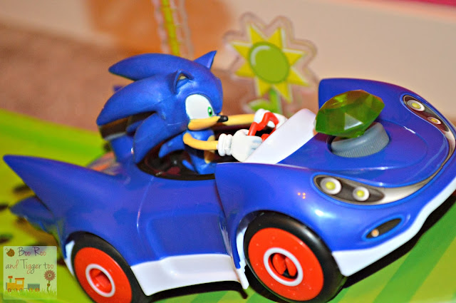 Meccano Sonic The Hedgehog - Sonic & Green Hill Ramp Playset