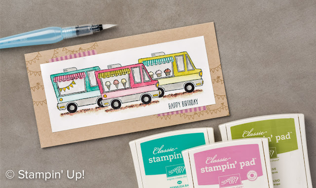 Tasty Trucks stamp set, Stampin' Up!