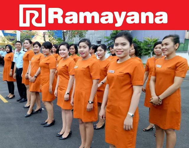 Lowongan Kerja PT. Ramayana Lestari Sentosa Tbk, Jobs: Finance Staff, Merchandiser Konsinyasi.