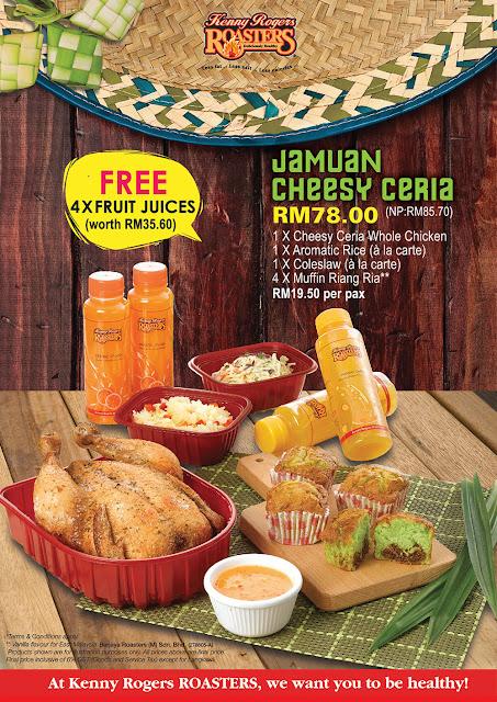 Jamuan Cheesy Ceria RM 78