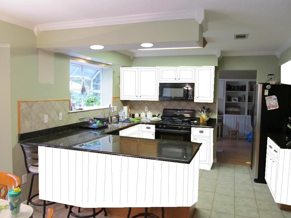 Kitchen Soffit Color Scheme