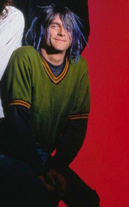 Kurt Cobain Natural Hair Color