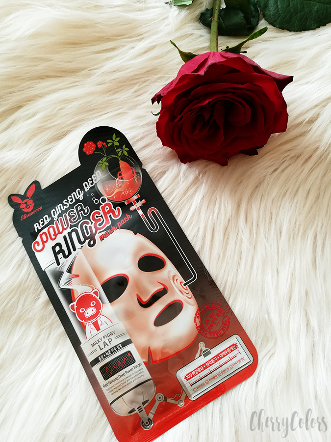 Elizavecca Red Ginseng Deep Power Ranger Mask Pack