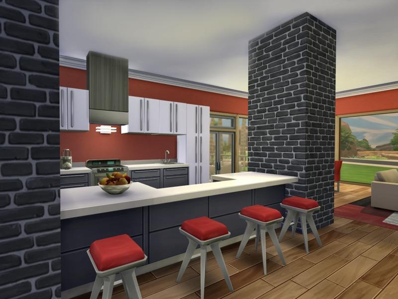 Modern Oasis Home | Sims 4 Houses