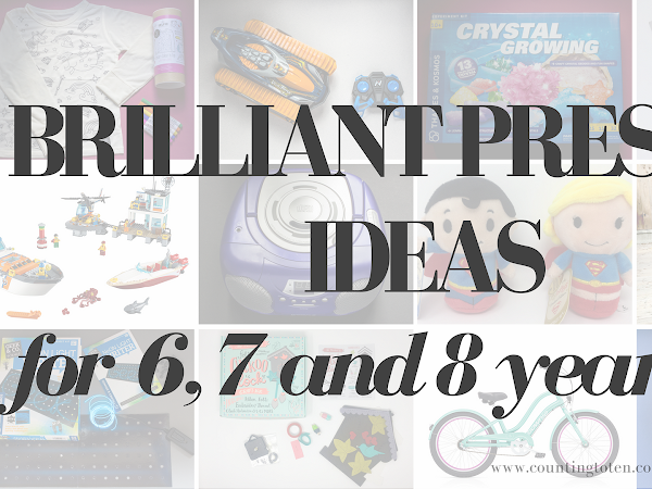 Brilliant Present Ideas for 6, 7 and 8 year olds