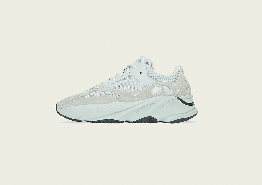 720c988a3 The adidas Yeezy Boost 700  Salt  drops 23 February at selected retailers.