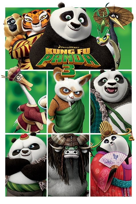 Kung Fu Panda 3 (2016) Movie Poster