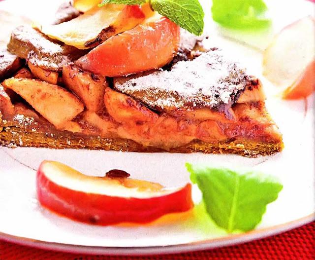 рецепт пирога с яблоками с манкой