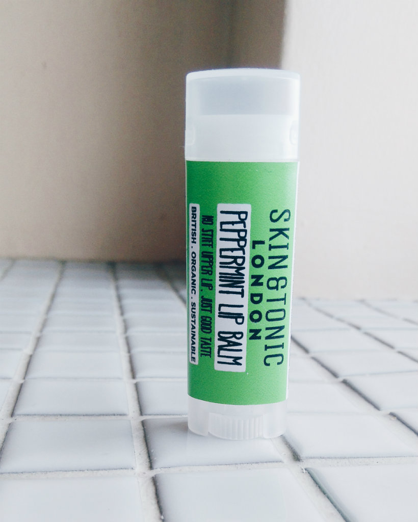 Skin & Tonic peppermint lip balm