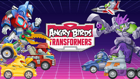 Download Angry Birds Transformers v1.23.3 Mod (Money) + Data For Android