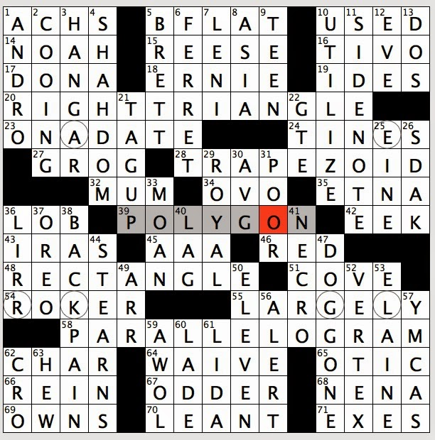 Rex Parker Does The Nyt Crossword Puzzle April 2015