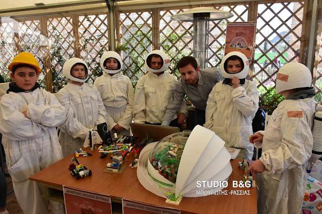 Υψηλό το επίπεδο στον 5ο Περιφερειακό Διαγωνισμό Εκπαιδευτικής Ρομποτικής στο Ναύπλιο (βίντεο)