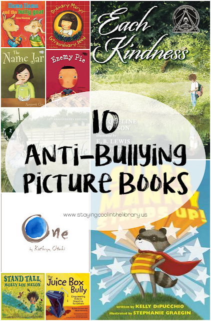 Books to promote kindness in the school classroom or library