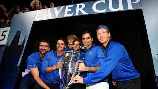 TENIS - Europa alza la primera Laver Cup con Federer y Nadal como protagonistas