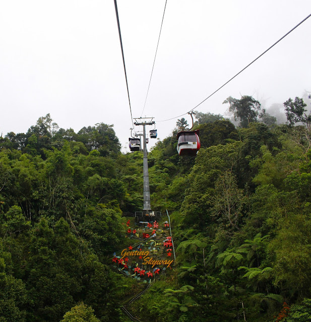 Pengalamanku Menaiki Genting Skyway Malaysia