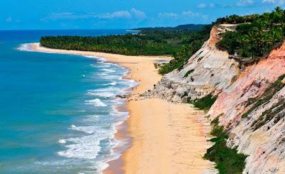 Trancoso, distrito de Porto Seguro. A praia mais bonita