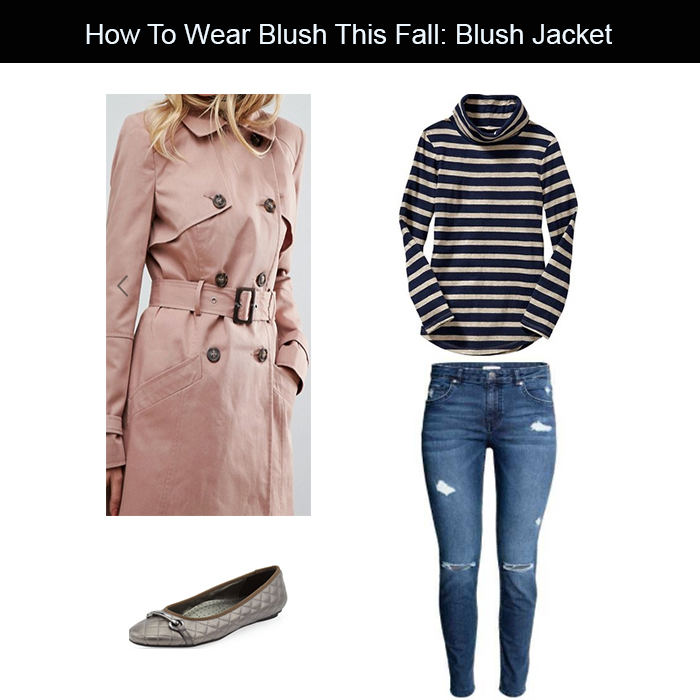 blush jacket for fall
