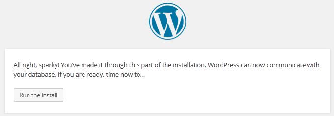 cara install wordpress menggunakan xampp