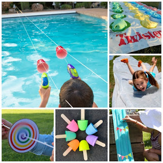SUMMER BUCKET LIST featuring 100+ FUN activities/crafts for kids! #summerbucketlist