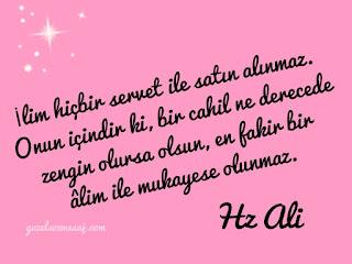 Hz Ali Sözleri