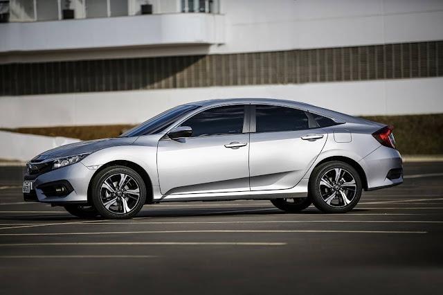 Novo Honda Civic 2017 EXL