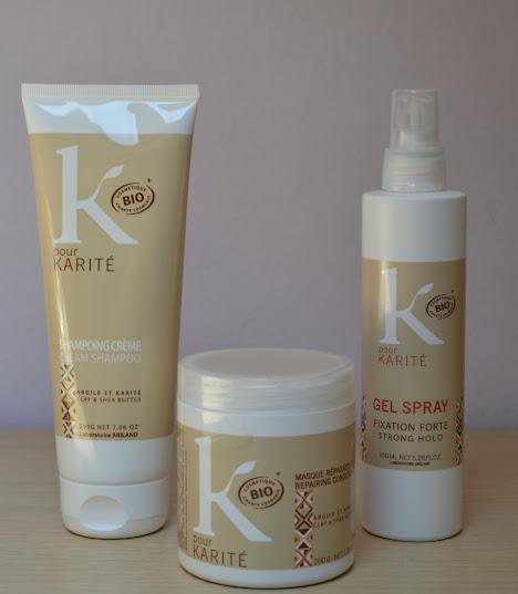 K Pour Karité Haircare: First Impressions.