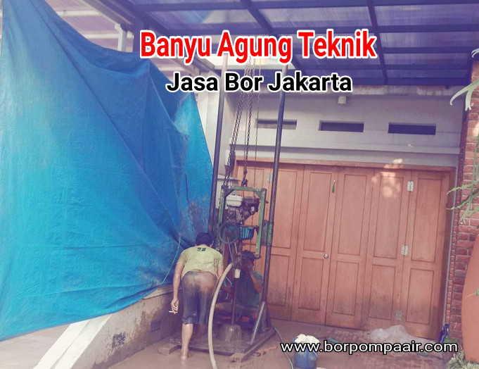 Jasa bor & service pompa