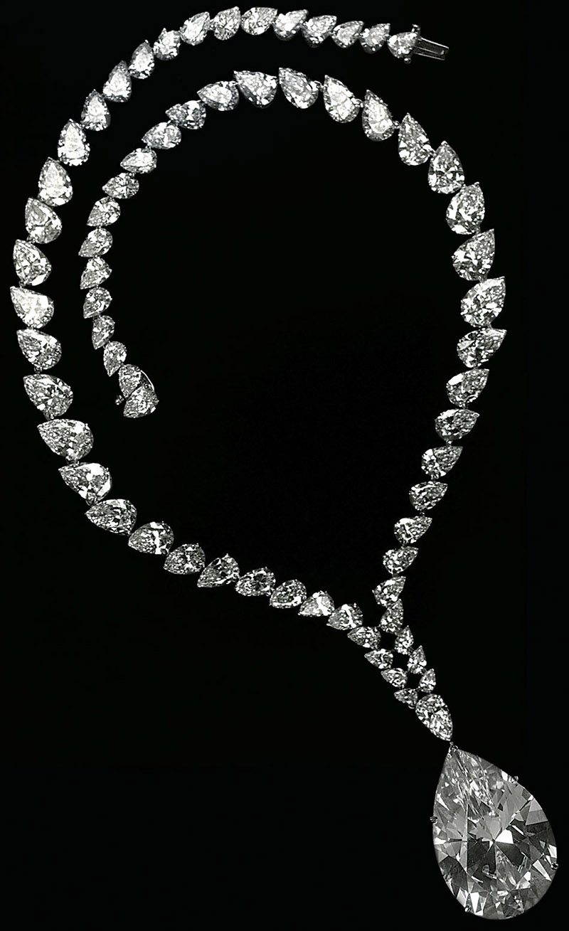 Carat Diamond Necklace Gold