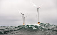 The Block Island Offshore Wind project. Renewable investments set a record last year, reaching $288 billion. (Credit: NREL/flickr) Click to Enlarge.