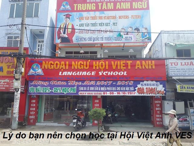 Lý do bạn nên chọn Anh ngữ Hội Việt Anh VES