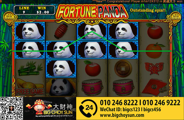 fortune panda clubsuncity online slot game malaysia 2016