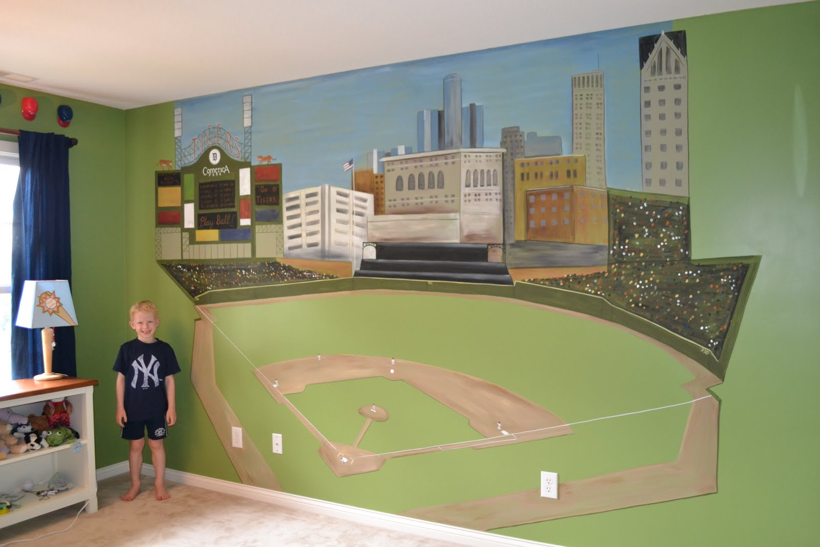 Stadium Wall Mural Images Home Decoration Ideas