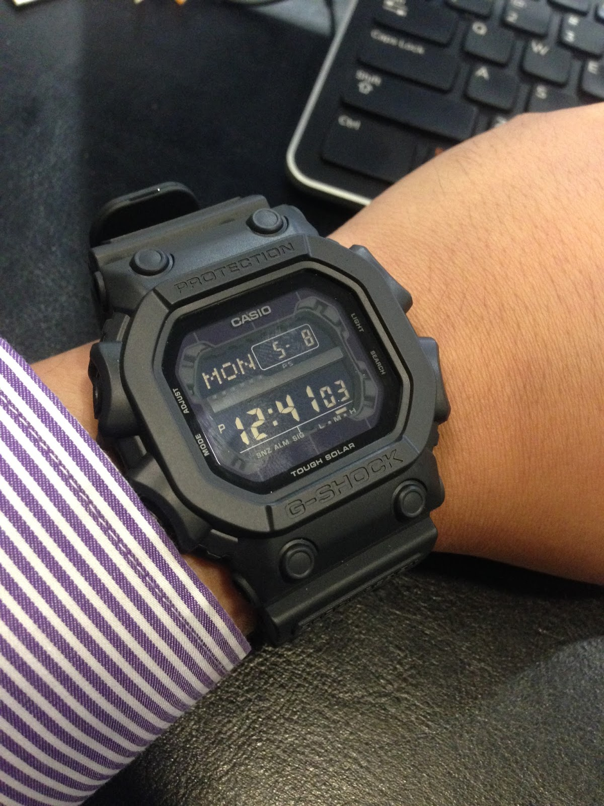 addca368b419 Casio G-Shock Black Out Basic Series GX-56BB-1DR – A Brute with Limited  Flexibility