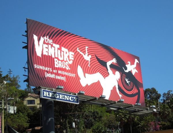 Venture Bros season 5 billboard