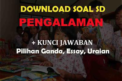 Soal Bahasa Indonesia PENGALAMAN Jawaban