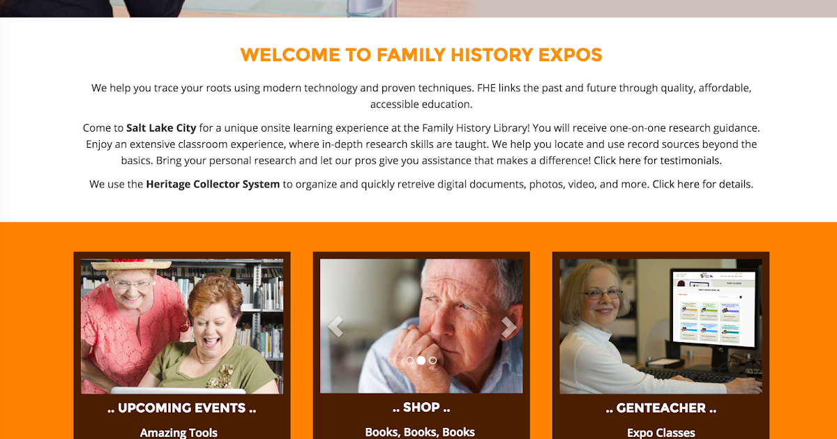genealogy s star familyhistoryexpos com introduces new expanded