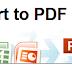 Cara Menukar Fail PDF Kepada Word, Excel, Power Point & Image