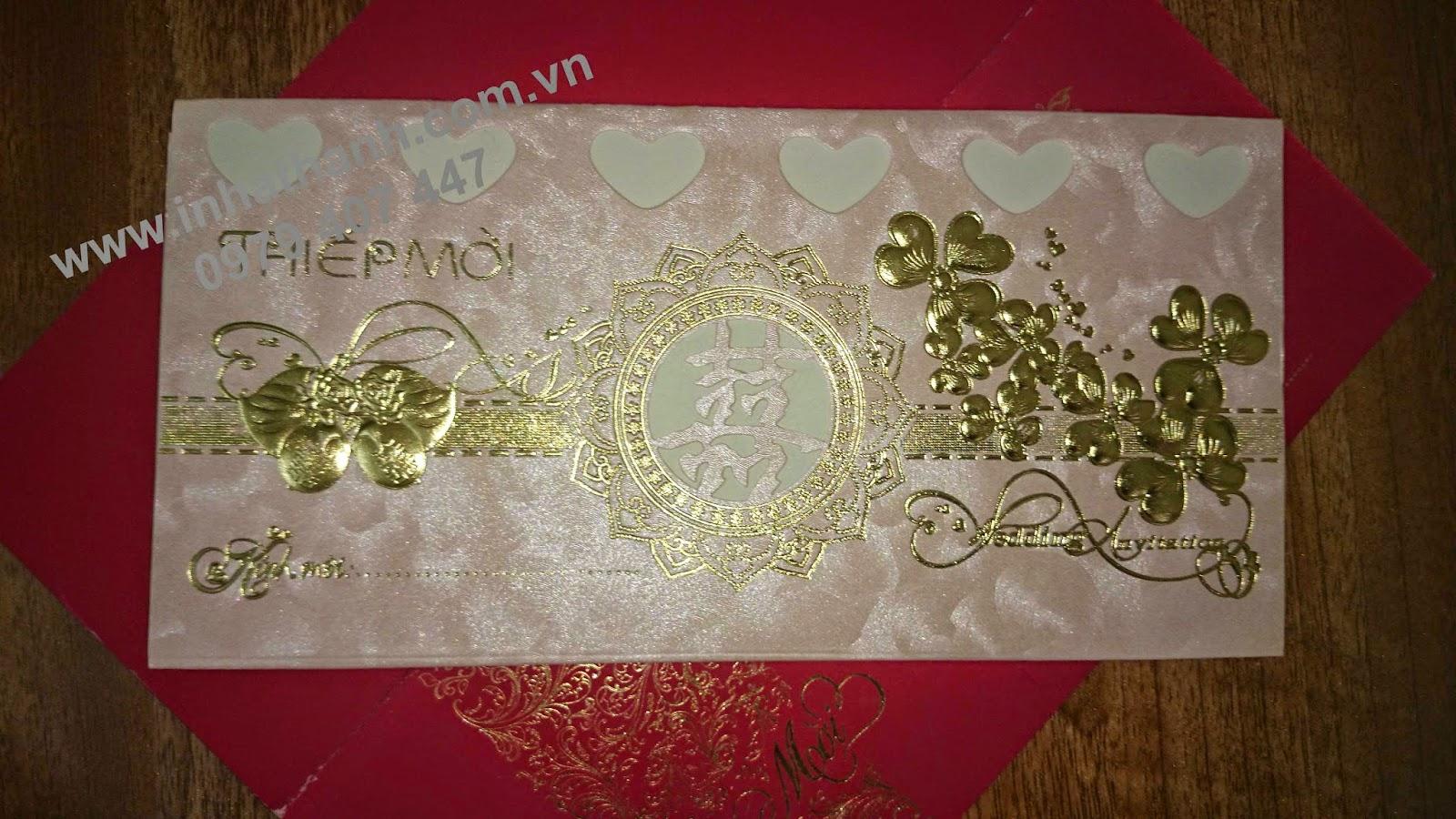 Mẫu thiệp cưới 23