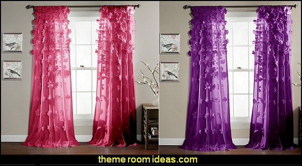 Lush Decor Riley Window Curtain