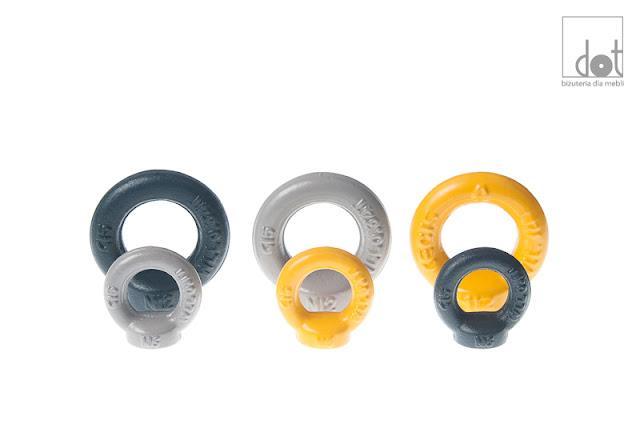 Uchwyty industrialne kolorowe