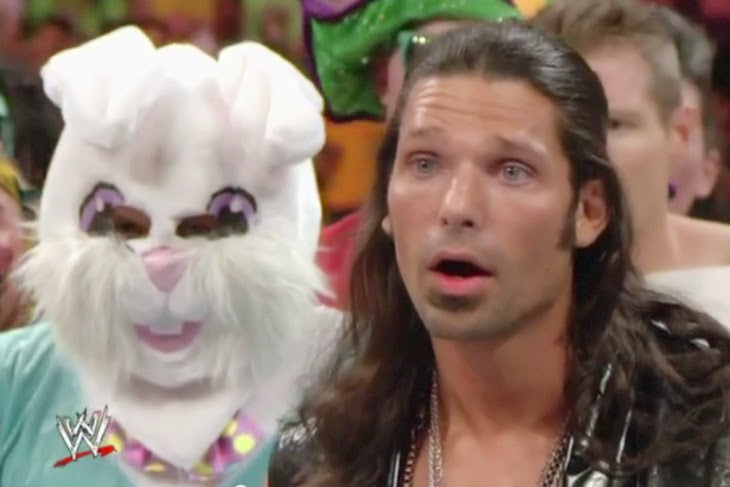 WWE Adam Rose Exotic Express Bunny Rosebuds
